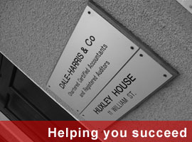 Helping you succeed. Dale-Harris & Co, Accountancy in Redditch